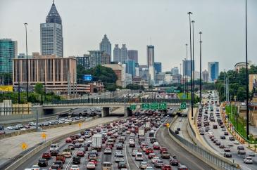 Status Transportation - Atlanta GA Traffic Jam